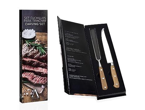 ANDREA HOUSE - Set Gourmet de Cuchillos de trinchar Carne en ...