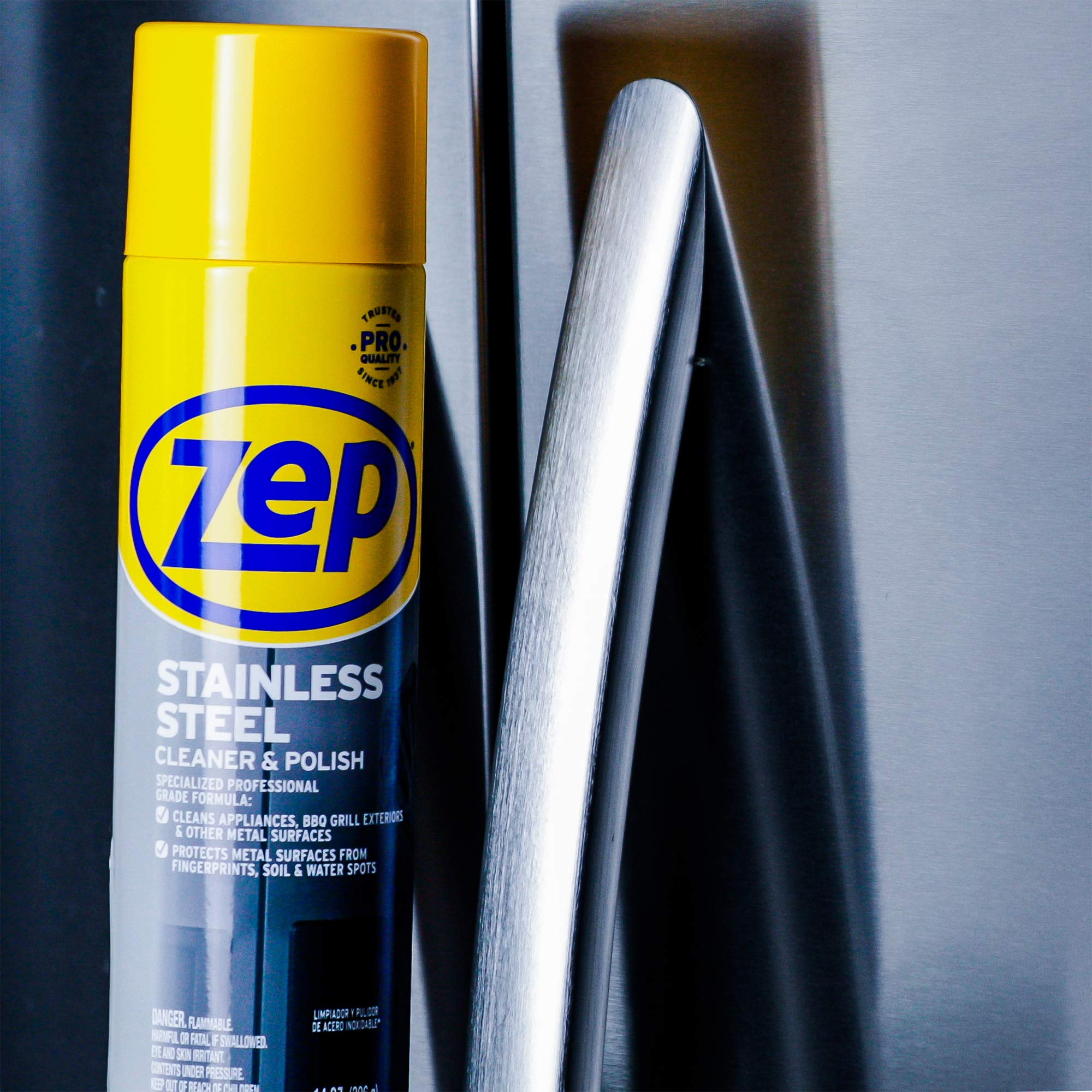 Zep Stainless Steel Cleaner 14 Ounce ZUSSTL14 (case of 4) by Zep (Image #4)