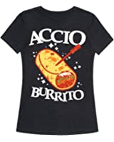 Accio Burrito Womens Fitted Triblend Tee by LookHUMAN