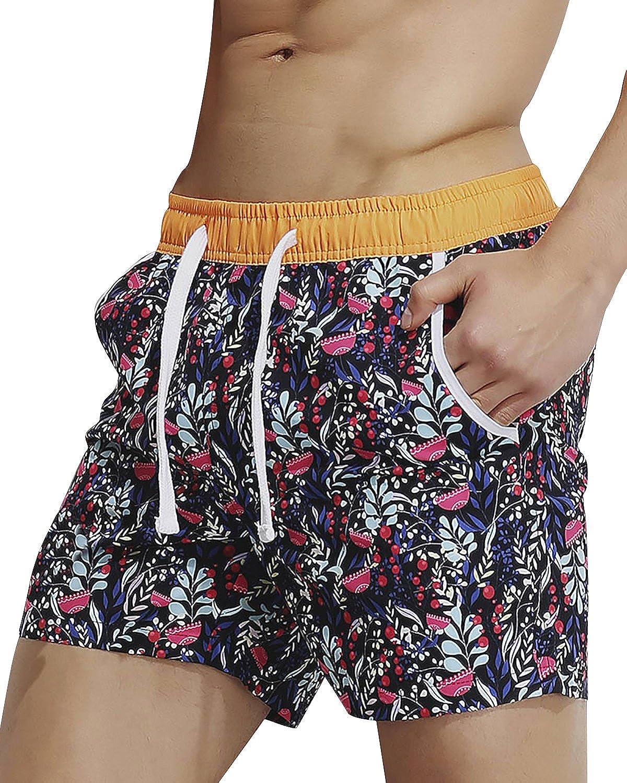 Maillots de bain hommes Shorts Swim Trunks Pantalons Maillots de bain Slim Wear Maillot de bain culotte beach