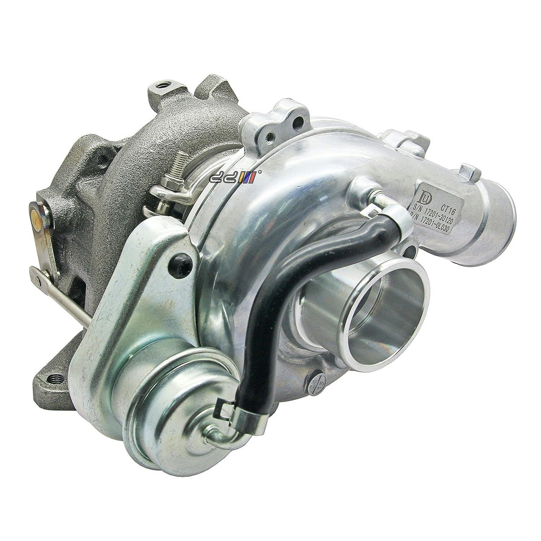 Amazon.com: Turbo Turbocharger For Toyota Hilux KDN145 KDN165 01-04 2.5L 2KD 2KD-FTV CT16: Automotive