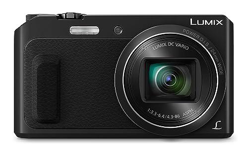 Panasonic Lumix DMC-TZ57EB-K Compact Digital Camera - Black (16 MP, 20x Optical Zoom)