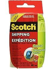 "Scotch Packing Tape, 1.88"" x 23m, 2 Rolls Shipping Tape"