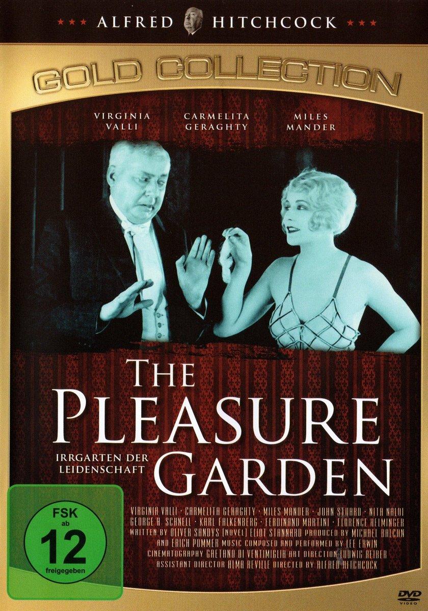 Isn't she lovely? Don't be fooled – she'll only rip you off. The Pleasure Garden (1925, dir. Alfred Hitchcock) German bootleg DVD.