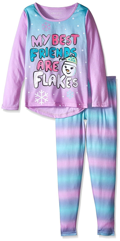 Amazon.com  Komar Kids Big Girls  Snowflakes Jersey BMJ Sleep Set ... fcf4c33e9
