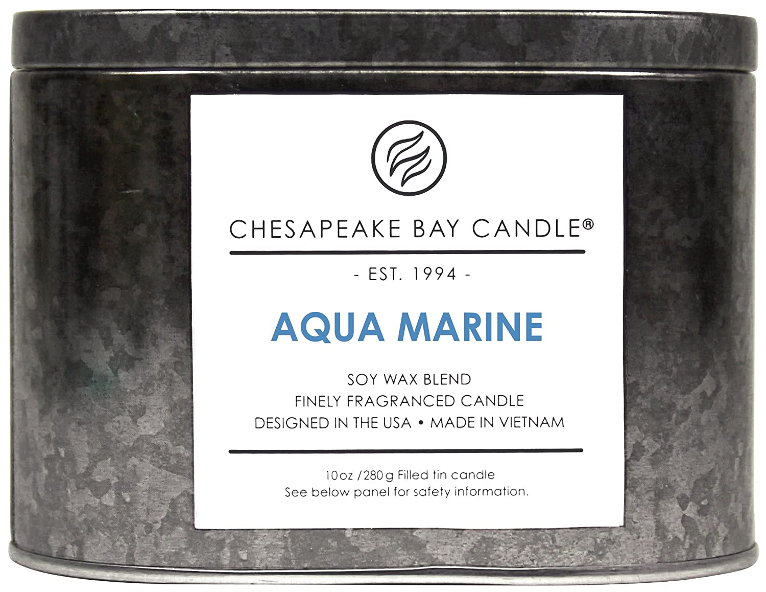 Pumpkin Latte PT96808 Chesapeake Bay Candle Tin with Double Wick Scented Candle