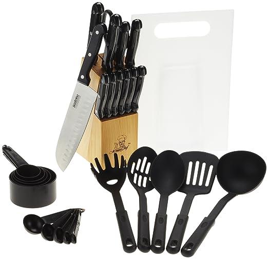 Masterchef - Juego de cuchillos de cocina (29 piezas ...