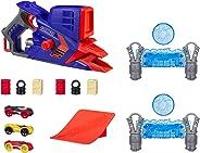 Lançador de Carro Nerf Nitro Flashfury Hasbro Azul/Laranja/Cinza