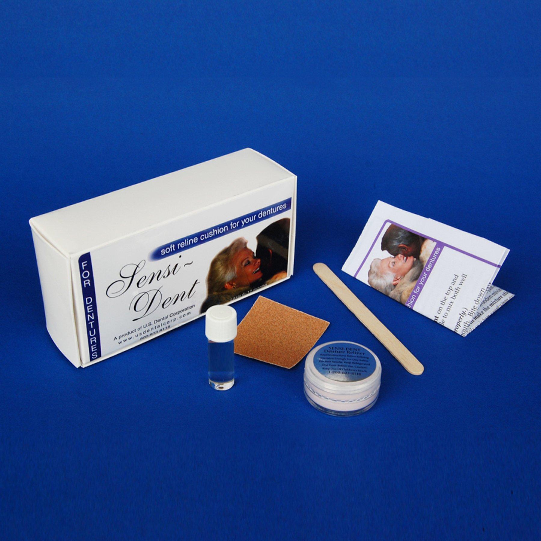 Sensi-Dent Denture Reliner Kit