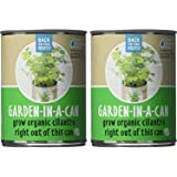 Back To The Roots Garden in a Can Grow Organic Cilantro, 2 Count