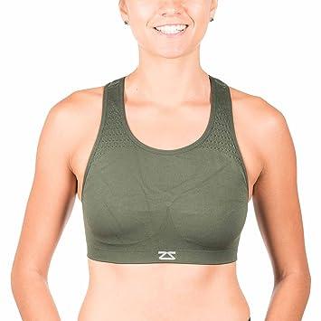 Amazon.com : Zensah Seamless Sports Bra - Best Sports Bra for ...