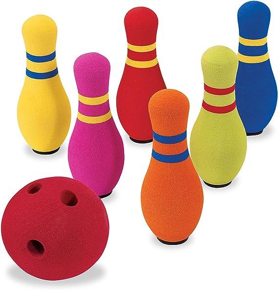 Star Wars Kids Small Disney Bowling Skittles Pins Set Ball Game 6 Pins 1 Ball
