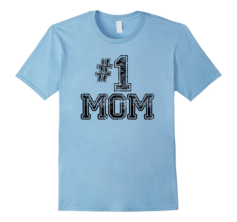 Womens Mom Shirt Number Sports-Awarplus