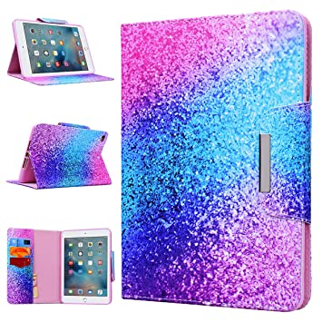 innovative design 9d5cc ccb90 iPad Mini Case WE LOVE CASE Leather Cover iPad Mini 4 Case Cute Pretty Case  Pattern Stand Folio Foldable Protective Shockproof Bumper Anti Shock Apple  ...