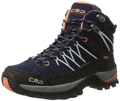 CMP CMP RIGEL - zapatillas de trekking y senderismo de cuero mujer: Amazon.es: Zapatos y complementos