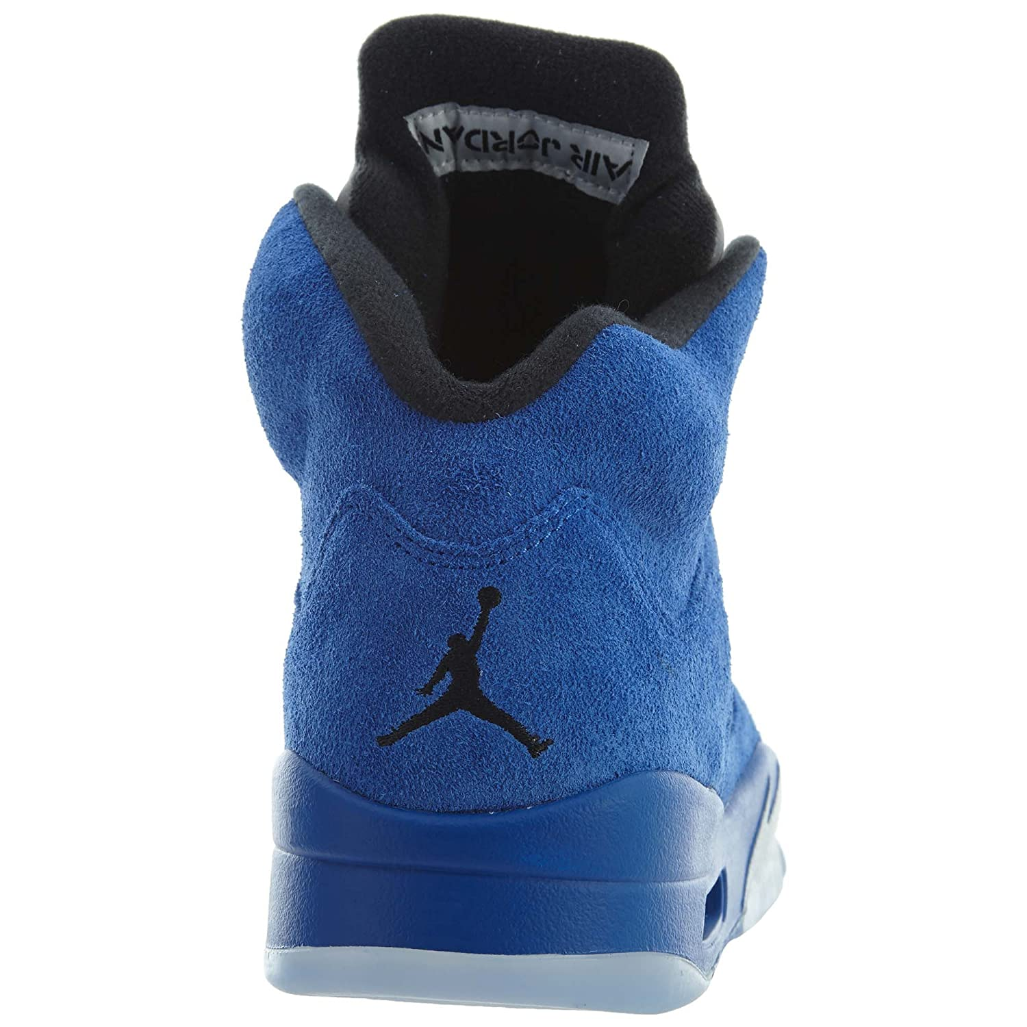Jordan Air Men's Air Jordan 5 Retro, GAME ROYAL/BLACK B0762DFMS8 Basketball bddcb5