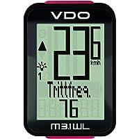 VDO M3.1 digitaler Fahrradcomputer 2017 Tacho, schwarz-rot