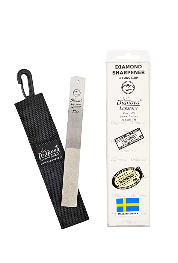Dianova Classic - Afilador de cuchillos de caza con diamante ...