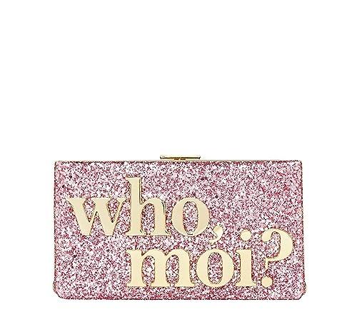 Amazon.com: Kate Spade que Moi? Miss Piggy purpurina ...