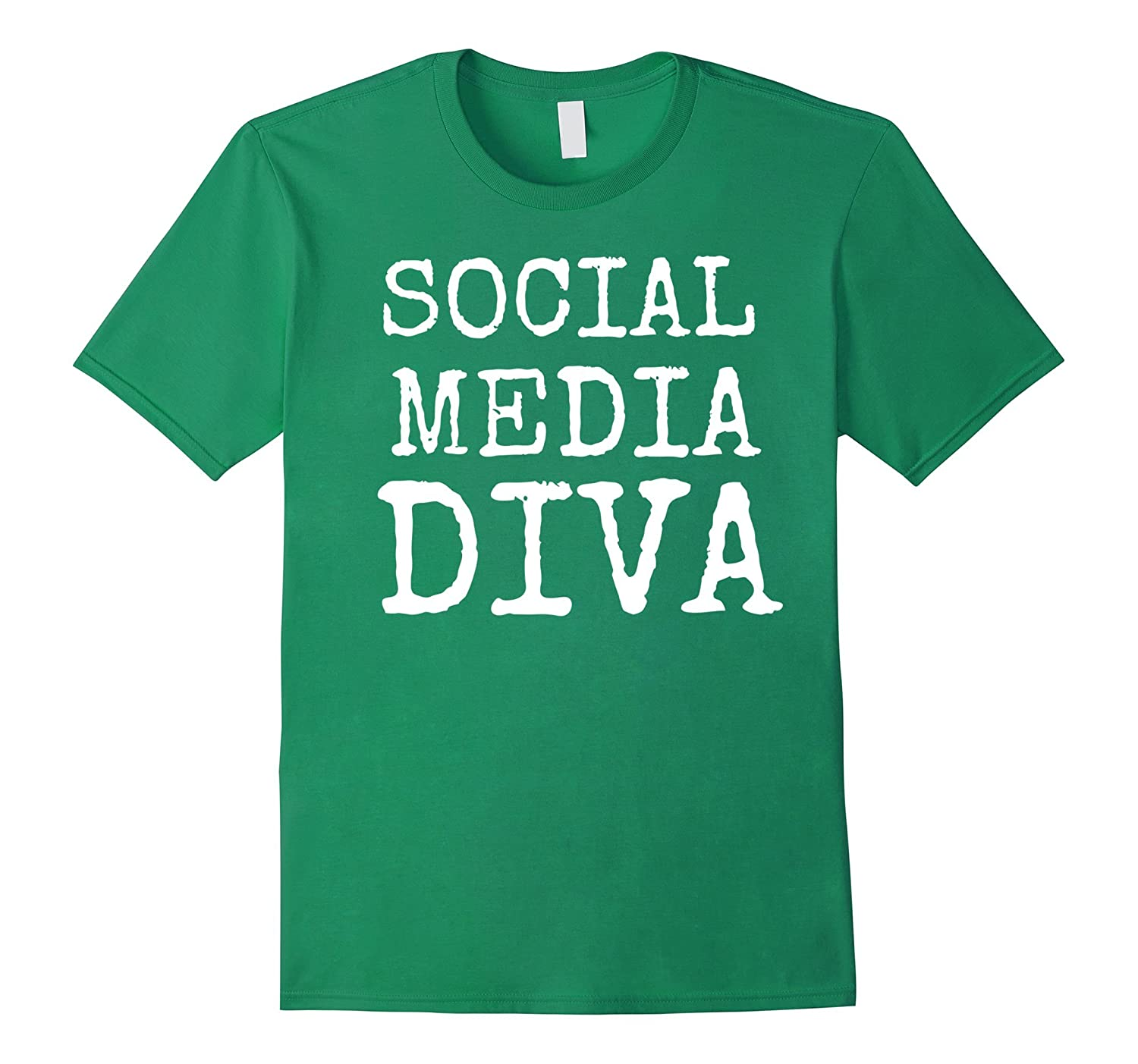 SOCIAL MEDIA DIVA FUN SHIRT-PL