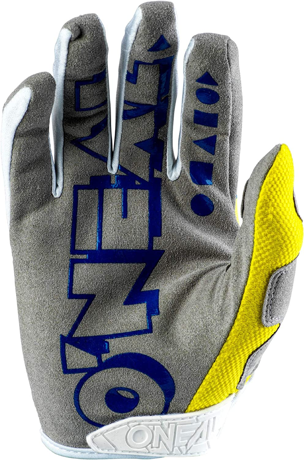 Yellow//White//Blue, 10 ONeal Mayhem Unisex-Adult Glove 2 Pack