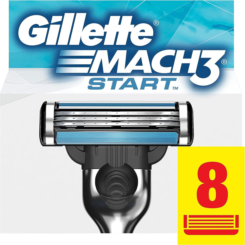 Gillette Mach3 Start Recambio Maquinilla de Afeitar 8 Uds