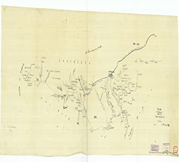 Amazoncom Vintography 18 X 24 Canvas 1854 Us Old Nautical Map - 1854-us-map