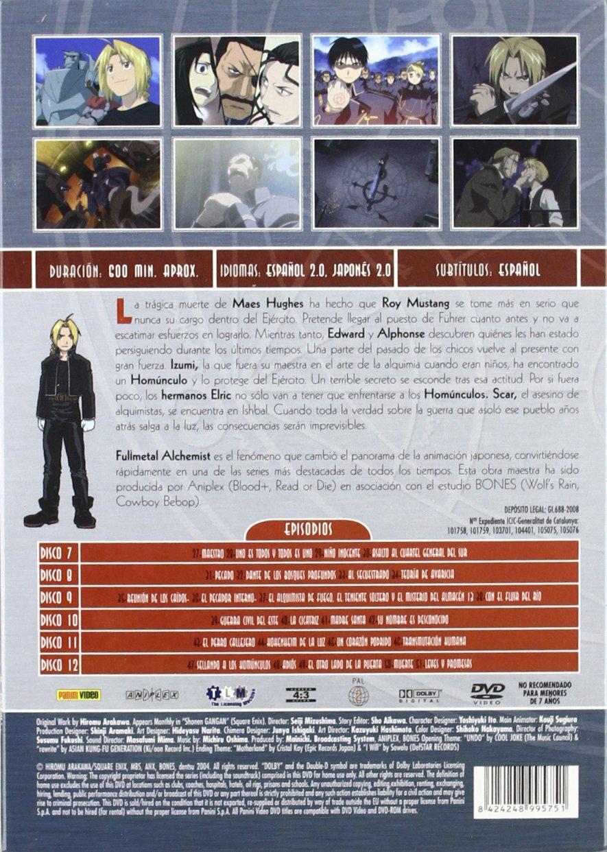 Pack Fullmetal Alchemist (2ª temporada) [DVD]: Amazon.es: Varios: Cine y Series TV