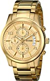GUESS Men's Stainless Steel Casual Bracelet Watch, Color: Gold-Tone (Model: U0075G5)