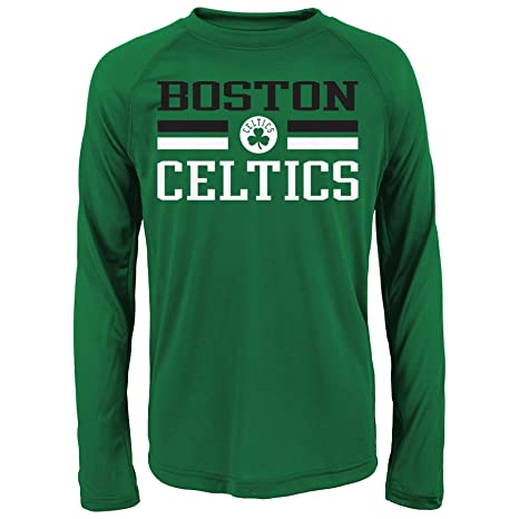 Outerstuff teen-boys NBA Celtics rendimiento camiseta de manga larga, K N8 28RI2 CE