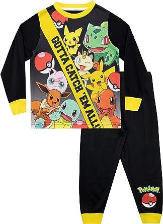 POKEMON Pikachu Ufficiale Regalo Ragazzi Bambini Lungo Pigiama