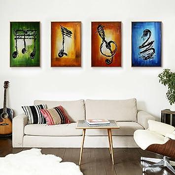 raybre art pcsset pintados a mano cuadros en lienzos