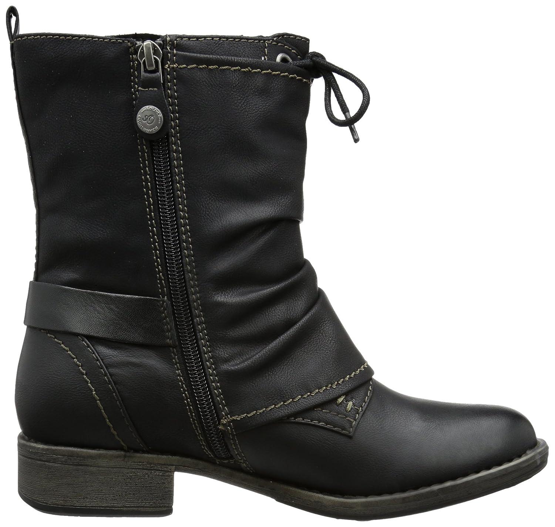 Details zu Damen Stiefel elegant Gr. 41 braun hohe Schaftlänge Wildlederoptik von Zalando