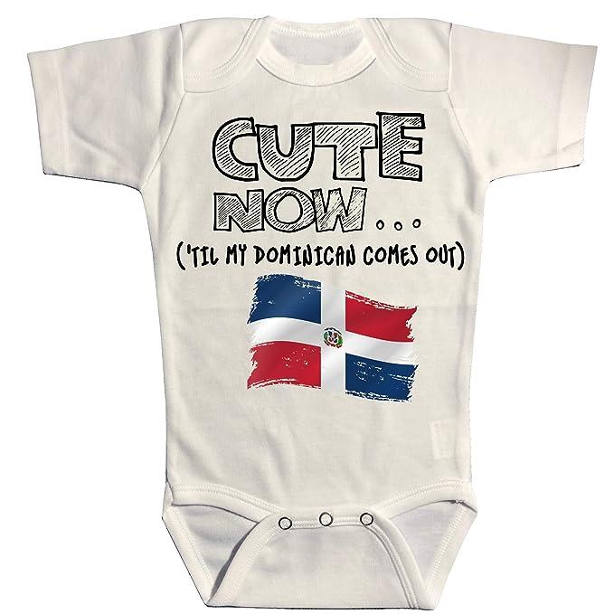 Amazon.com: Bonito traje de bebé de la República Dominicana ...