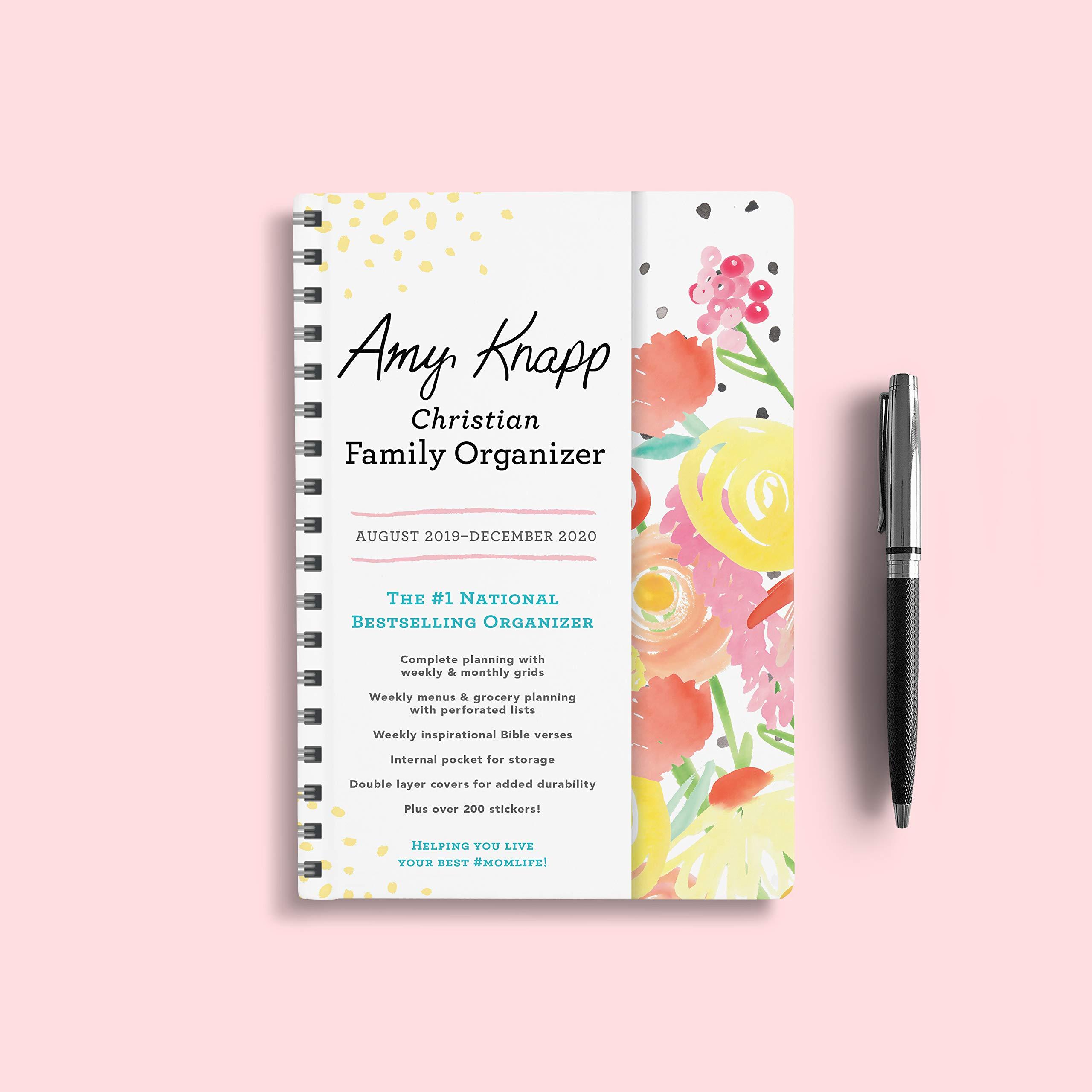Chrisitan Concert Calendar December 2020 2020 Amy Knapp's Christian Family Organizer: August 2019 December