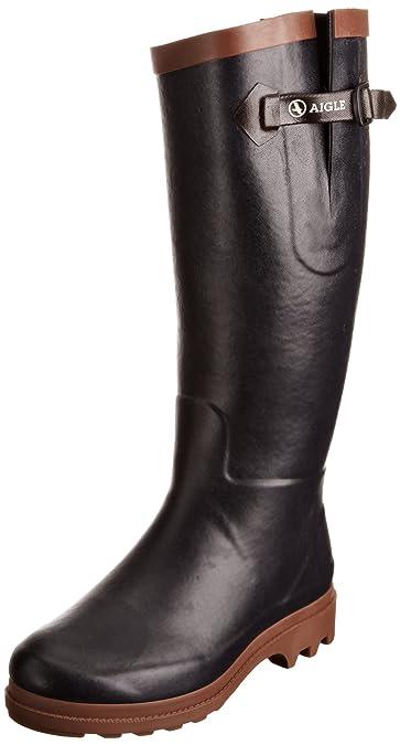1de61b1a3211db Aigle Damen Aiglentine Fur Gummistiefel  Amazon.de  Schuhe   Handtaschen