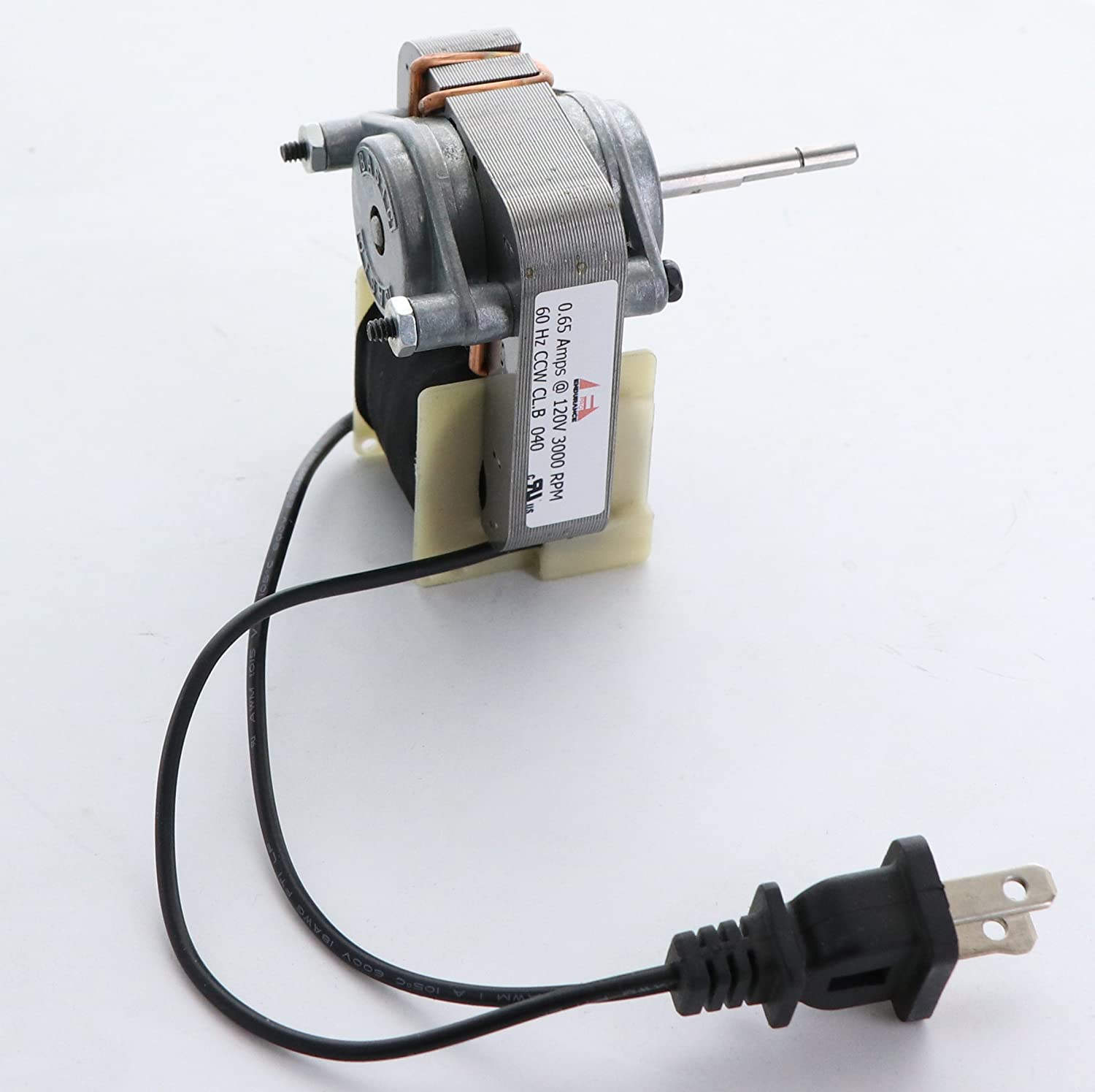 Electric Motors C01575 Replacement Motor Kit With Fan 120v Wiring Ceiling To Wall Outlet