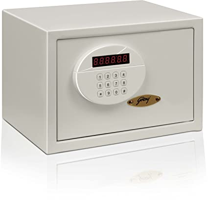 Godrej Security Solutions Taurus Electronic Safe (Ivory, Powder Coated Finish)