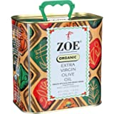 Zoe Organic Extra Virgin Olive Oil, 2.5 Liters