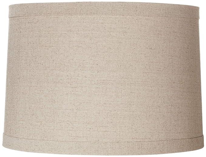 Amazon.com: springcrest Lino Natural sombra de carga 15 x 16 ...