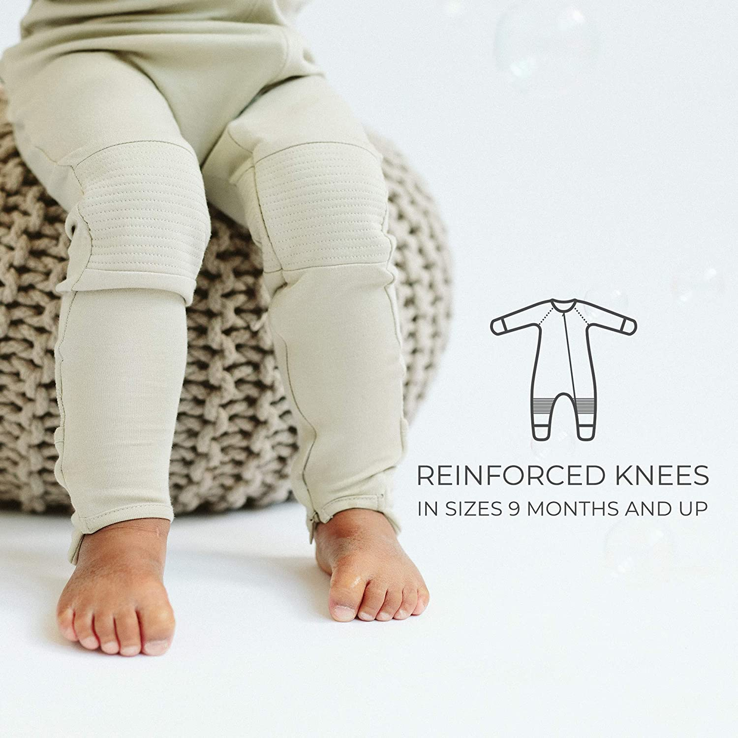 Organic /& Adjustable Baby Footie Pajamas Goumikids
