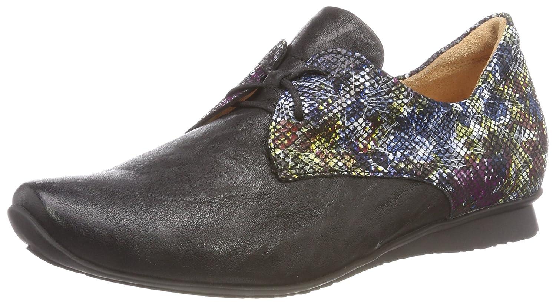 Think! Chilli_383100, Zapatos de Cordones Derby para Mujer 42.5 EU|Multicolor (03 Sz/Multi)