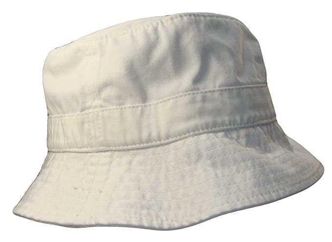 Amazon.com  THS Cotton Unstructured Polo Style Floppy Bucket Hat ... c47af7f9429
