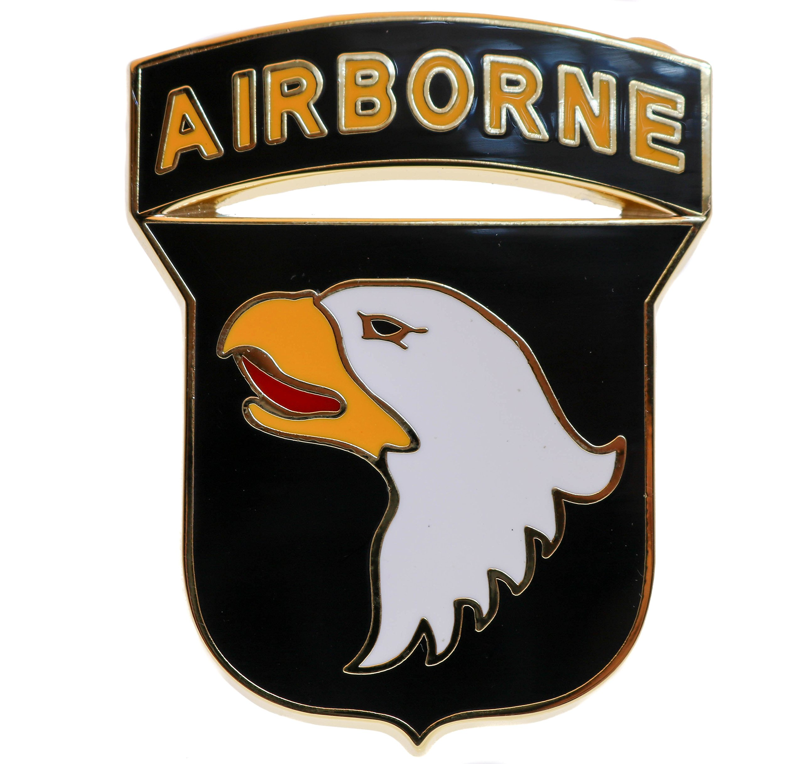101st A/B CSIB Combat Service Identification Badge Hat Pin Regulation Size HON40100