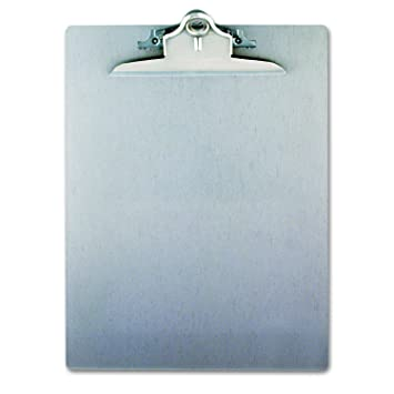 Saunders Recycled Aluminum Clipboard With High Capacity Clip   Letter Size    22517