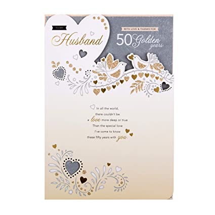Hallmark - Tarjeta de felicitación de aniversario de boda ...