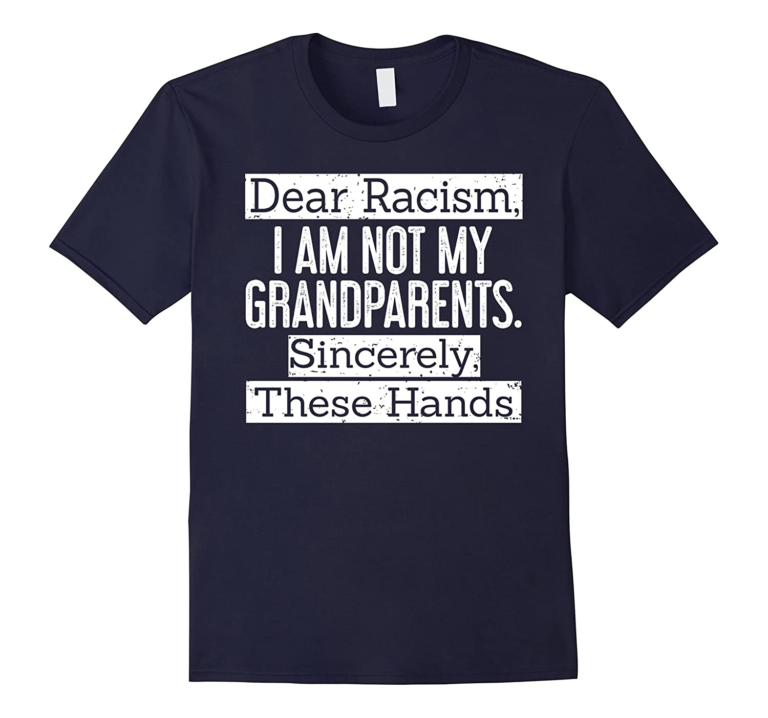 Dear racism I am not my grandparents sincerely these hands-TH