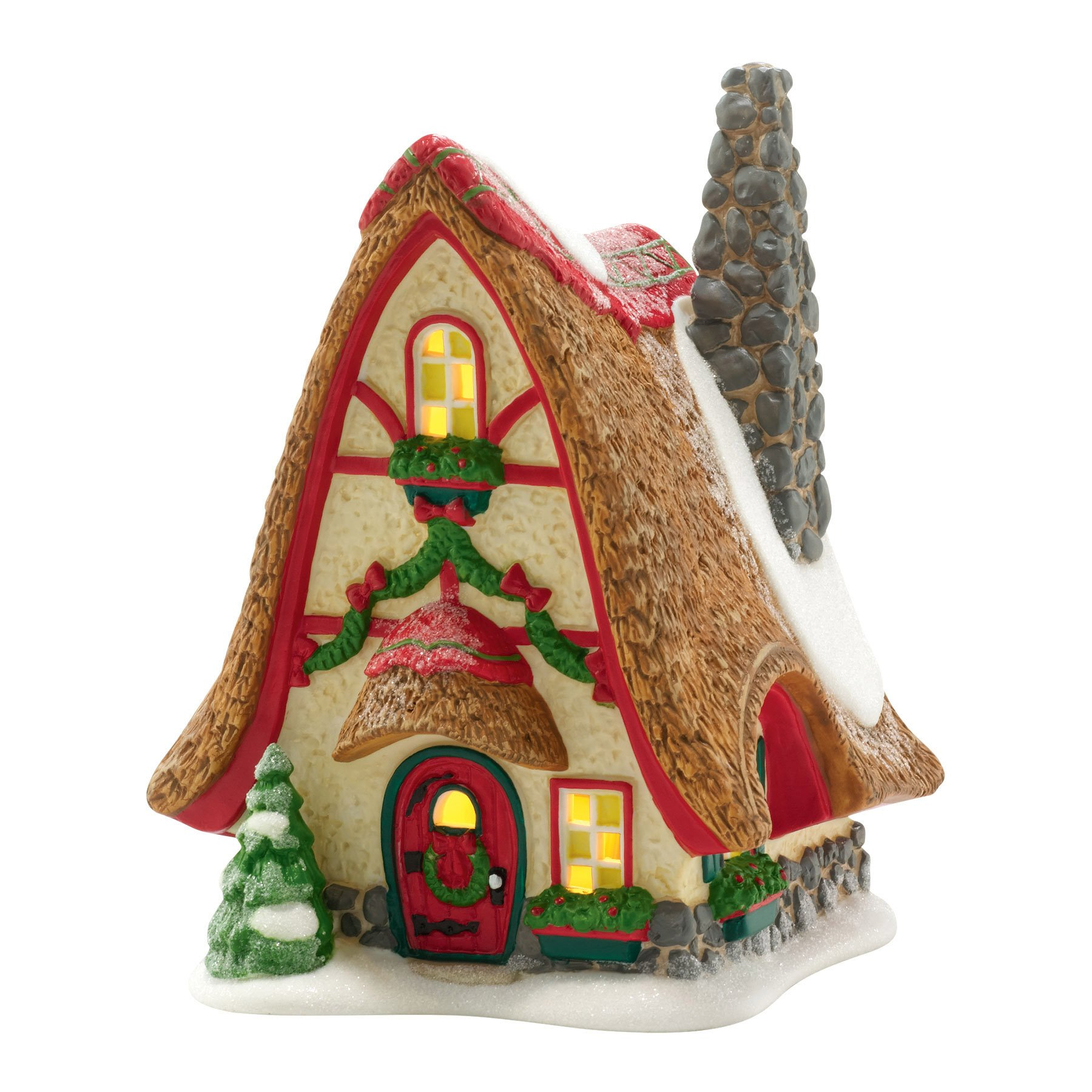 Department 56 North Pole Village Tinker's Tiny Home Lit House, 5.9 inch