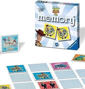 Ravensburger-21472 Ravensburger Disney Toy Story 4 Mini Memoria para niños a Partir de 3 años clásico a Juego de Pares, Multicolor (21472) , color/modelo surtido: Amazon.es: Juguetes y juegos
