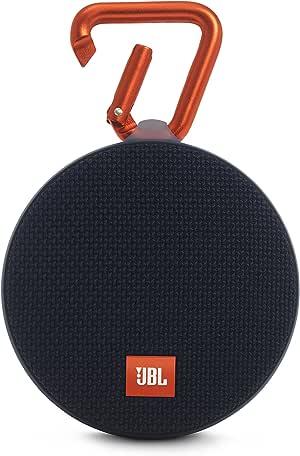 JBL Clip 2 Bluetooth Speaker, Black